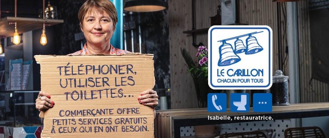L'asso La Cloche lance une campagne à destination des sans-abris