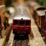Un train en jouet