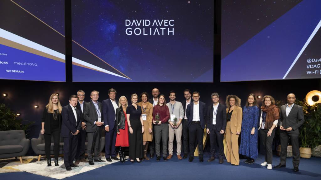Gagnants et Membres du jury David & Goliath