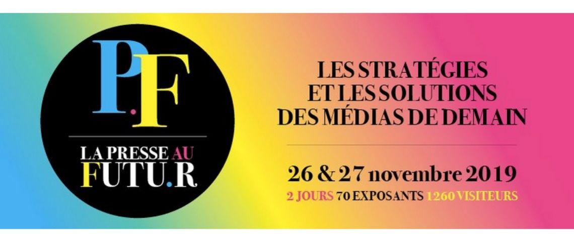 Logo du Salon La Presse au Futur
