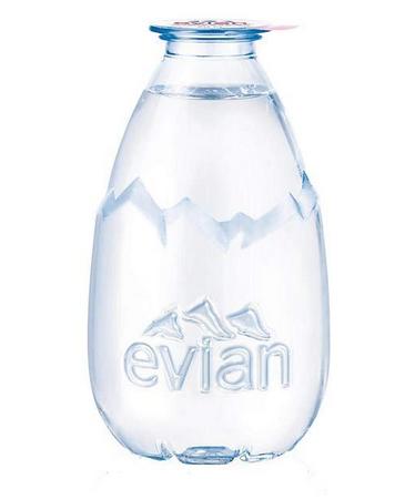 Bouteille goutte d'eau d'Evian