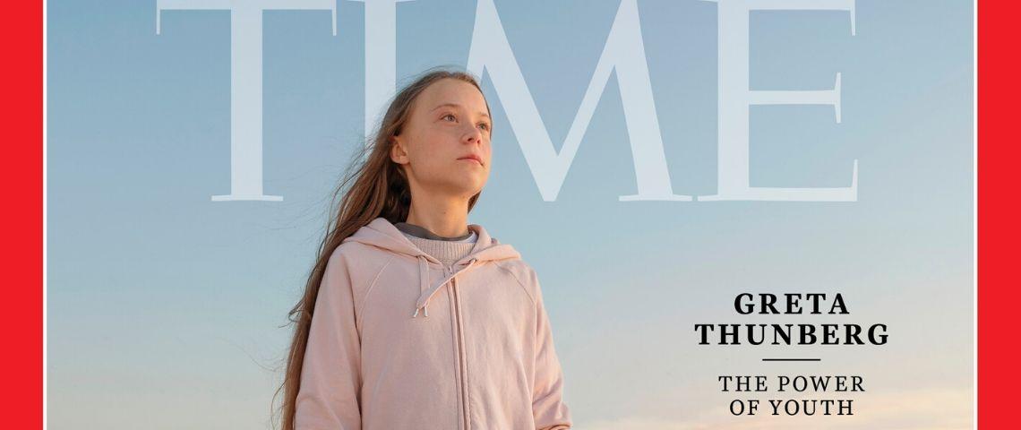 Greta Thunberg sacrée personnalité de l'année 2019 par la magazine Time