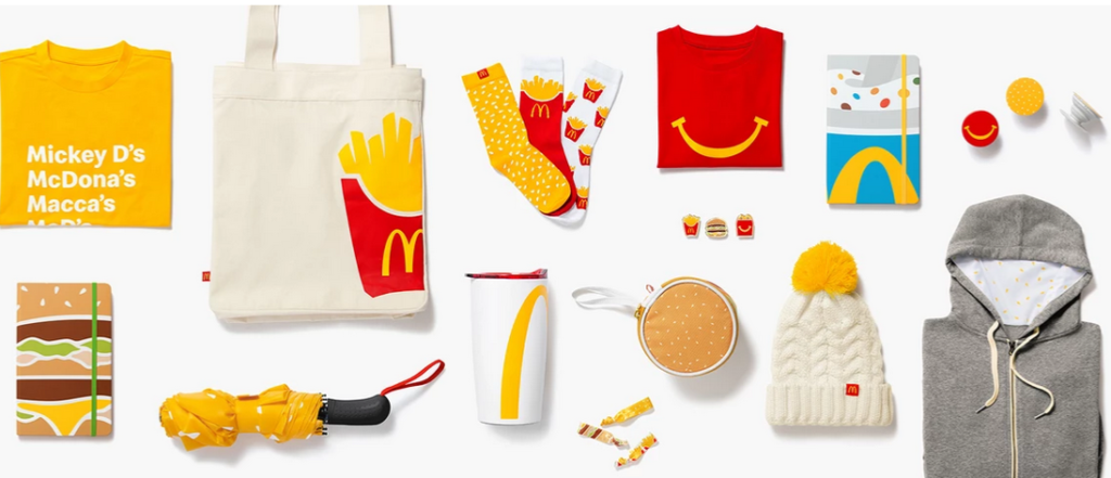 Collection mode Mc donalds