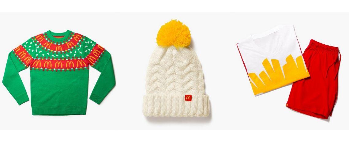 McDonald's se lance dans les accessoires de mode