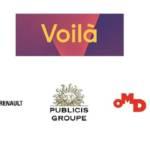 Logo de la nouevlel plateforme et des 3 groupes