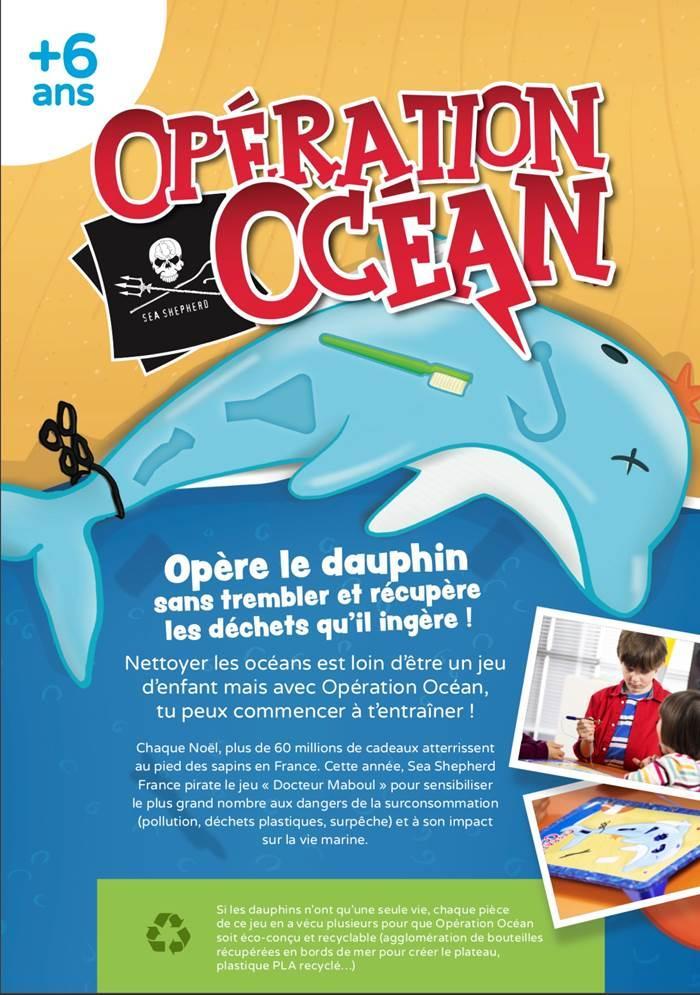 Affiche opération océans Sea Shepherd