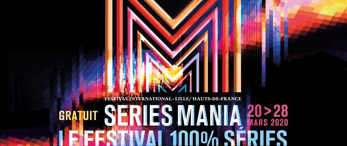 Affiche festival Séries Mania