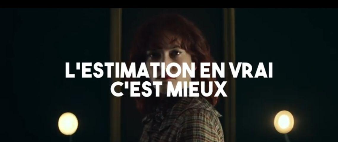 Capture d'écran de la campagne de Guy Hoquet : l'estimation en vrai c'est mieux