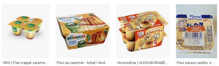 Recherche google images sur les flans au caramel