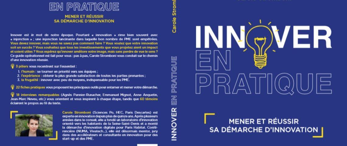 Couverture de Carole Stromboli, Innover en pratique, conseils et stratégies pratiques pour les PME