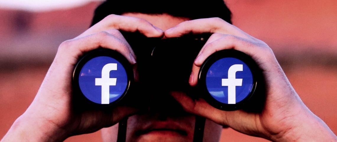 jumelles avec logo facebook