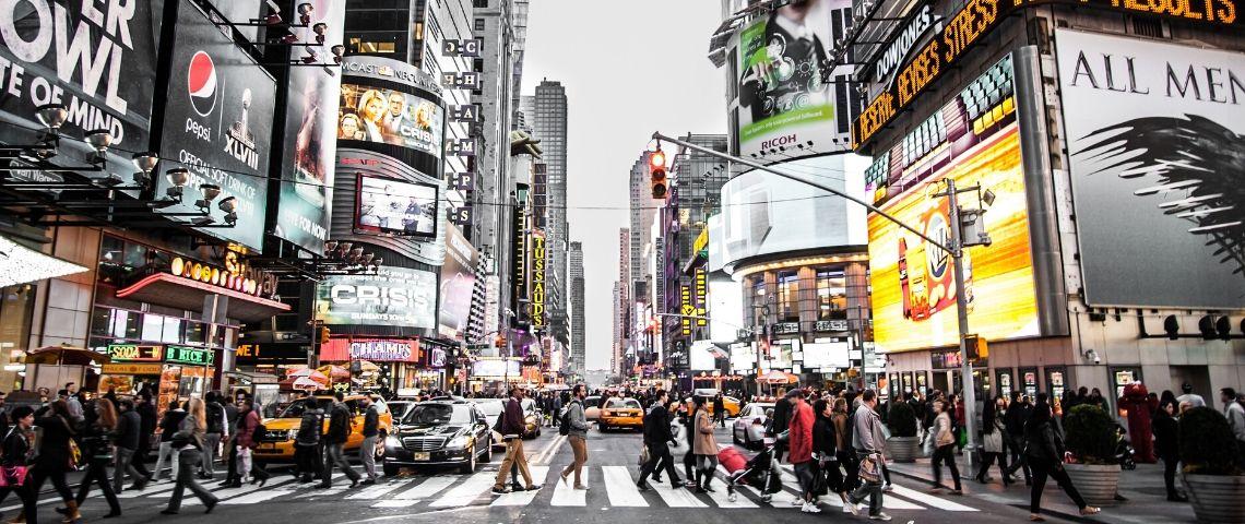 billboards et publicité aux États-Unis