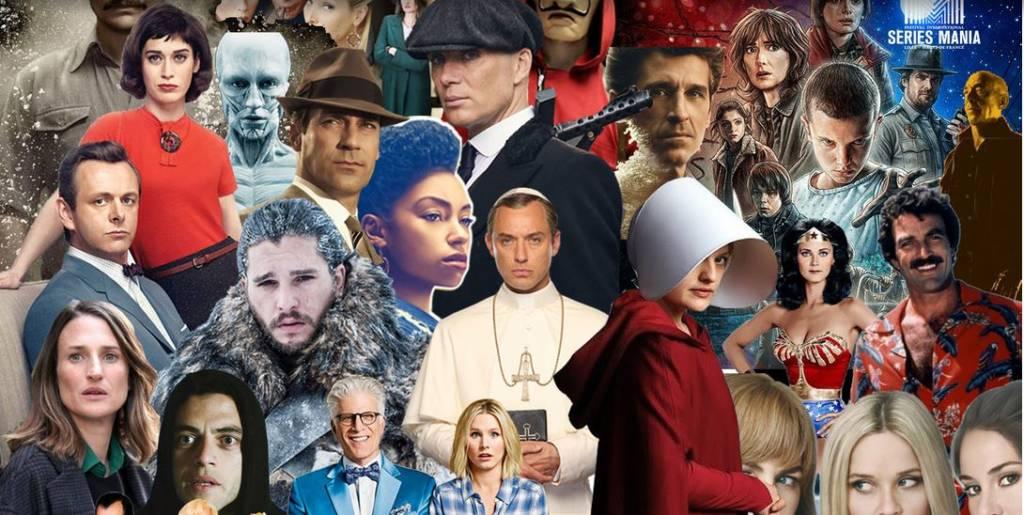 Affiches avec de nombreux acteurs phare de séries