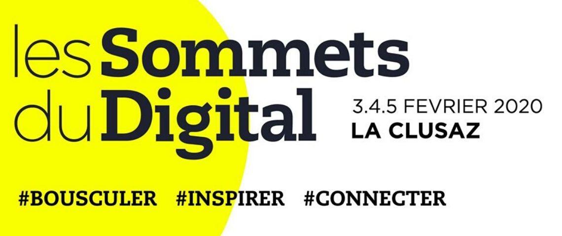 Affiche sommets du digital