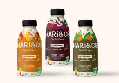 Soupes de la marque Hari&co