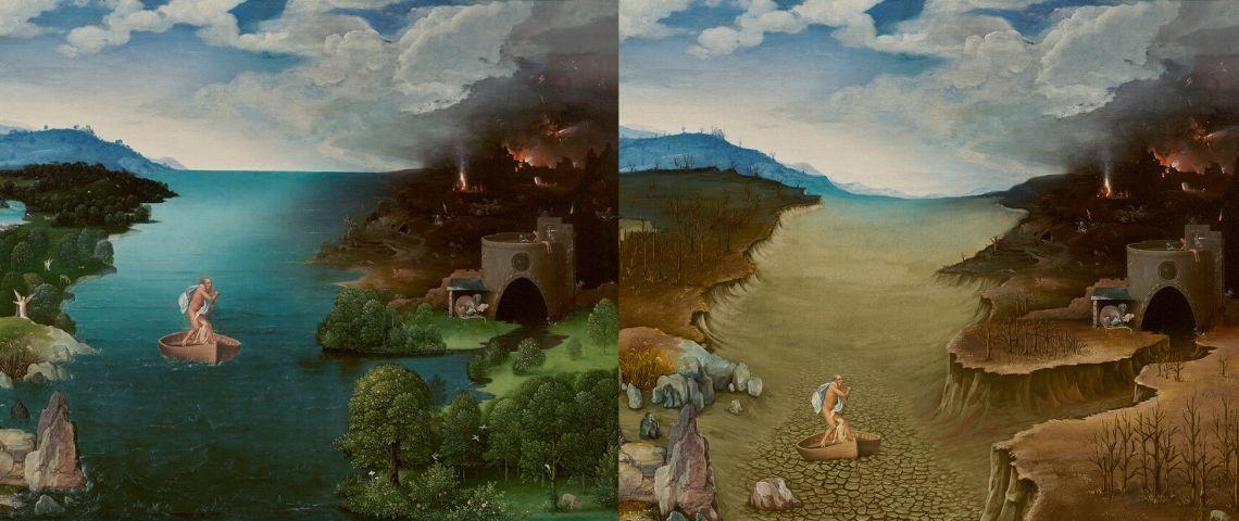 WWF et le Musée du Prado détournent des peintures pour sensibiliser au changement climatique