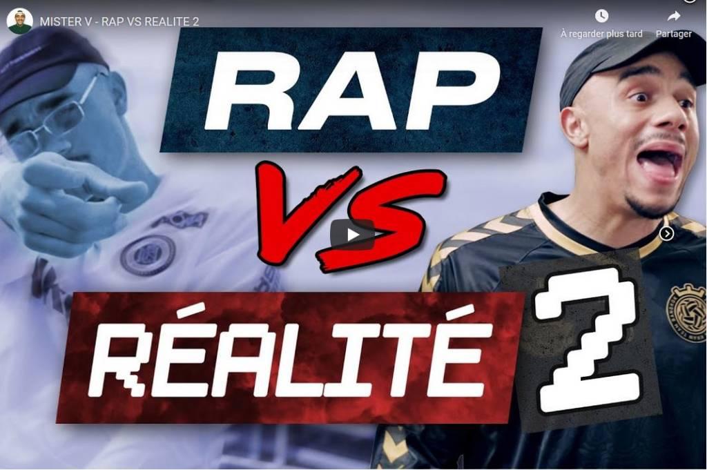Capture écran Video Mister V Rap VS réalité