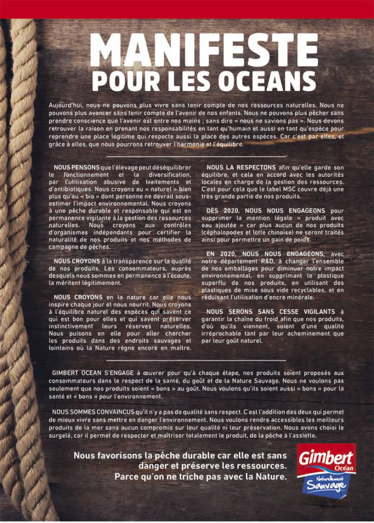 Manifeste de Gimbert ocean