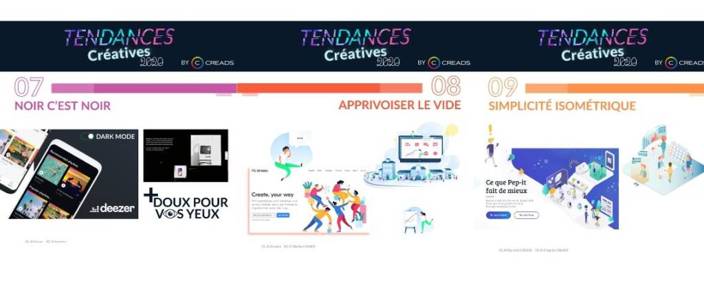Tendances créatives 2020