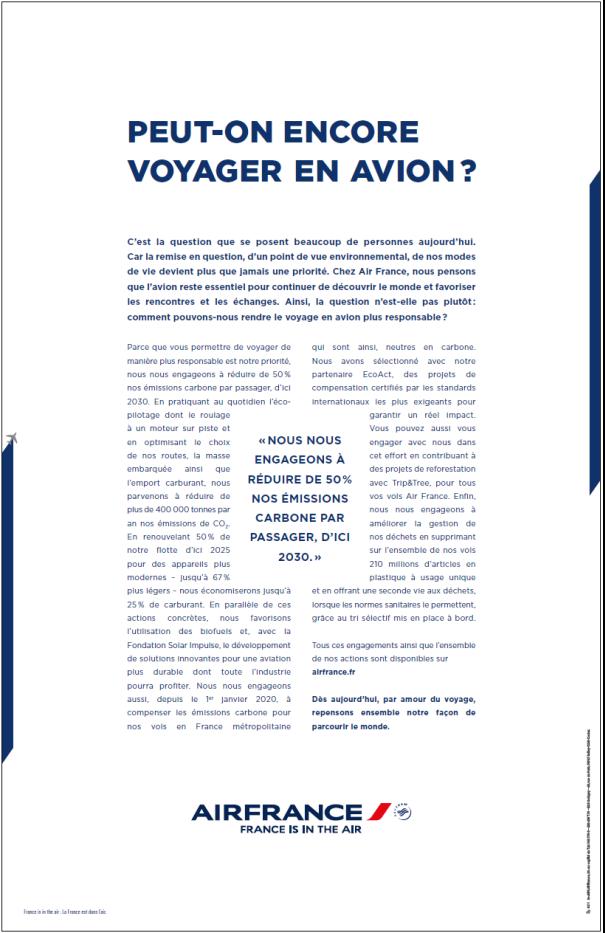 Manifeste d'Air France