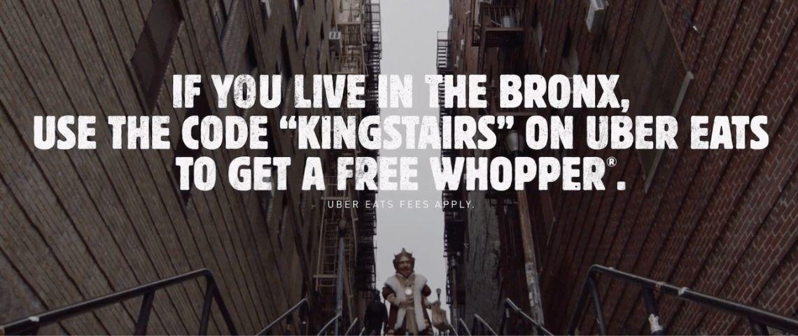 Affiche de Buirger King :