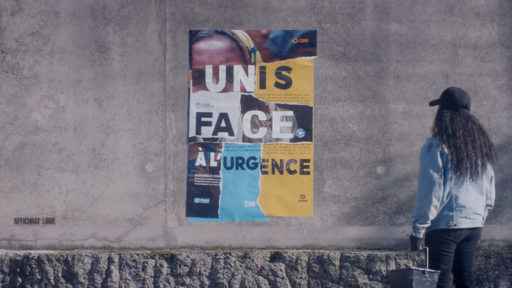 Capture d'écran de la campagne d'Alliance Urgences