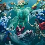 Photo de noces sous l'eau