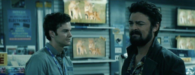 Capture d'écran de la série The Boys