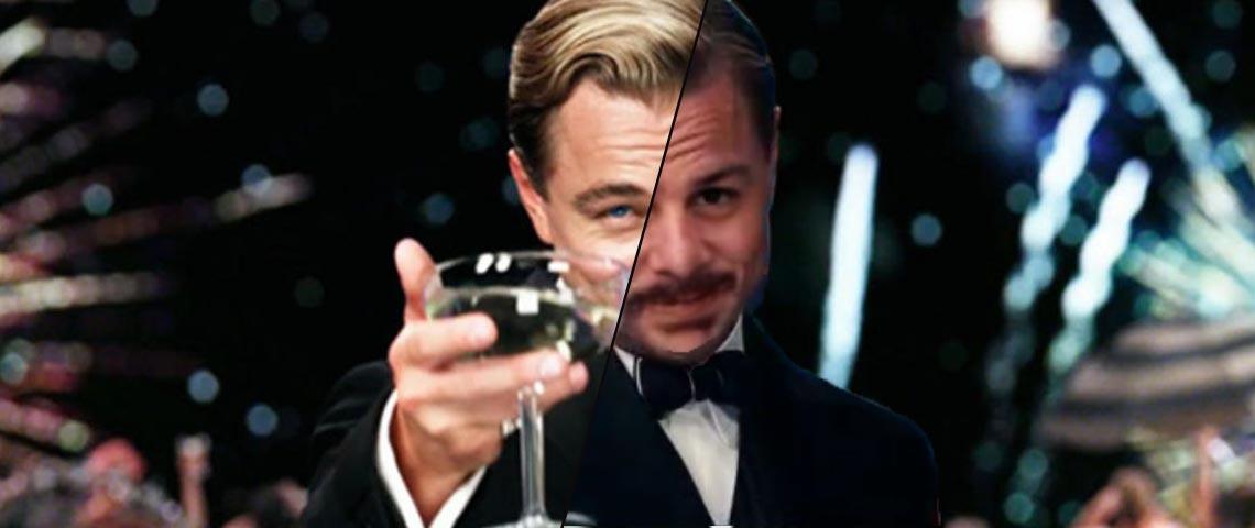 GIF modifié de Leonardo DiCaprio