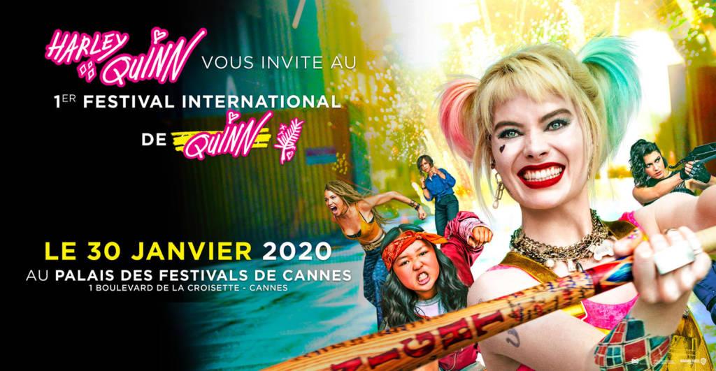 Affiche festival Harley Quinn