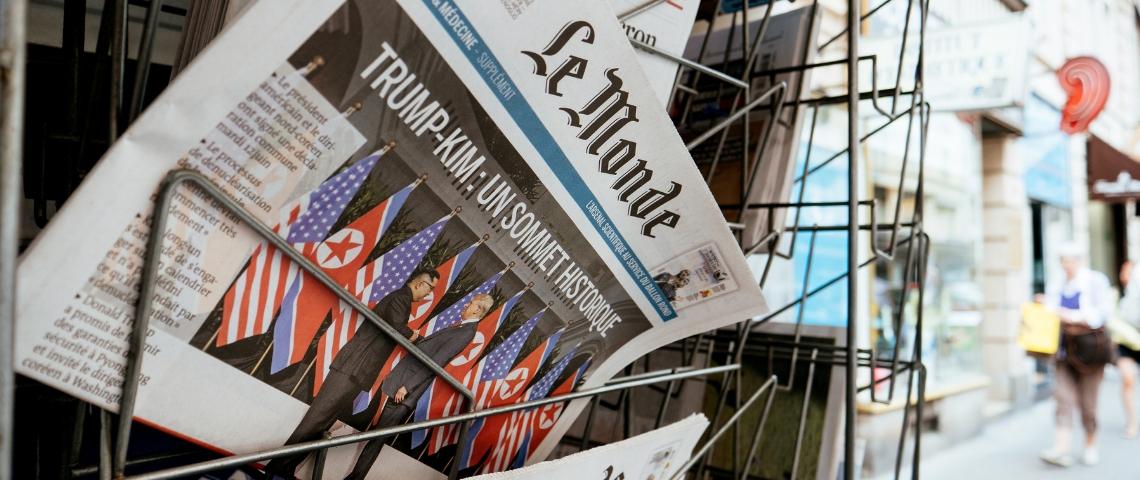 Moins d'articles, plus de journalistes et plus d'audience : la formule gagnante du journal Le Monde