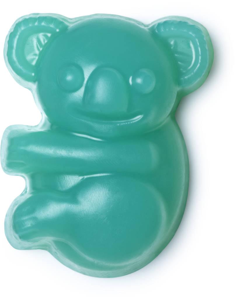 Savon bleu/vert en forme de Koala