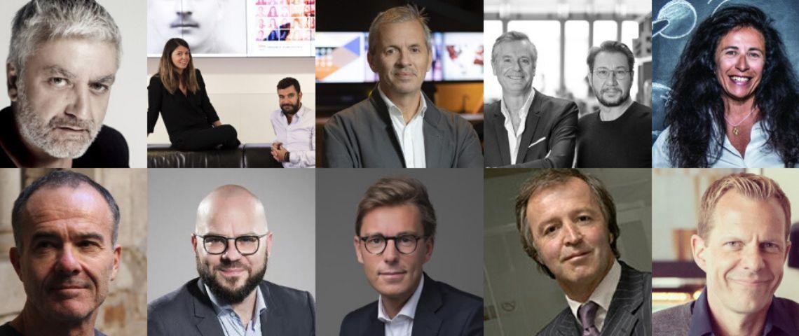 Photo des lauréats du plamares du grand prix des agences de l'année 2019