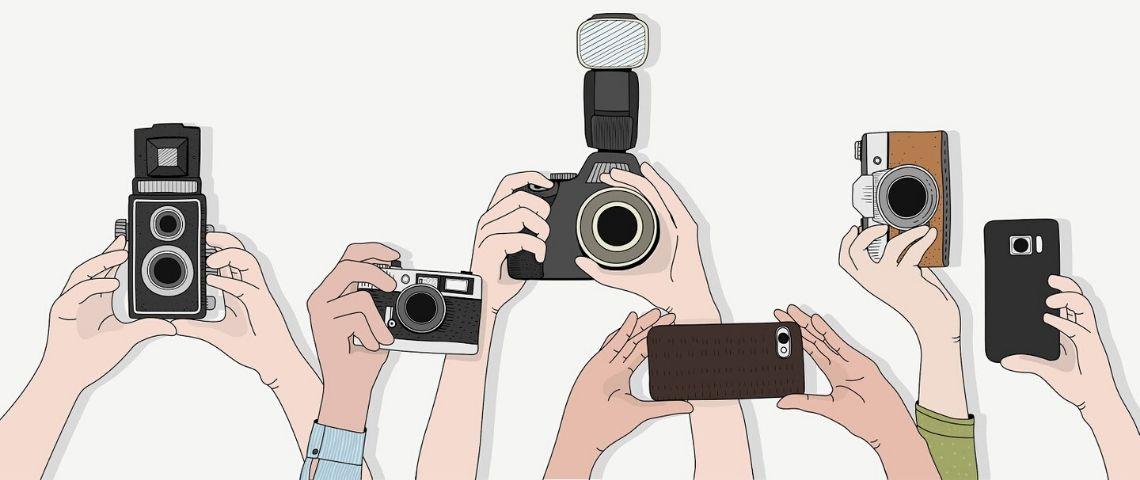 filmer au smartphone ou à la caméra