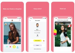 Hoop : Mélange de Tinder et Snapchat, cette application de rencontre cartonne en ce moment !