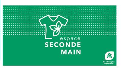 Logo offre seconde main d'Auchan