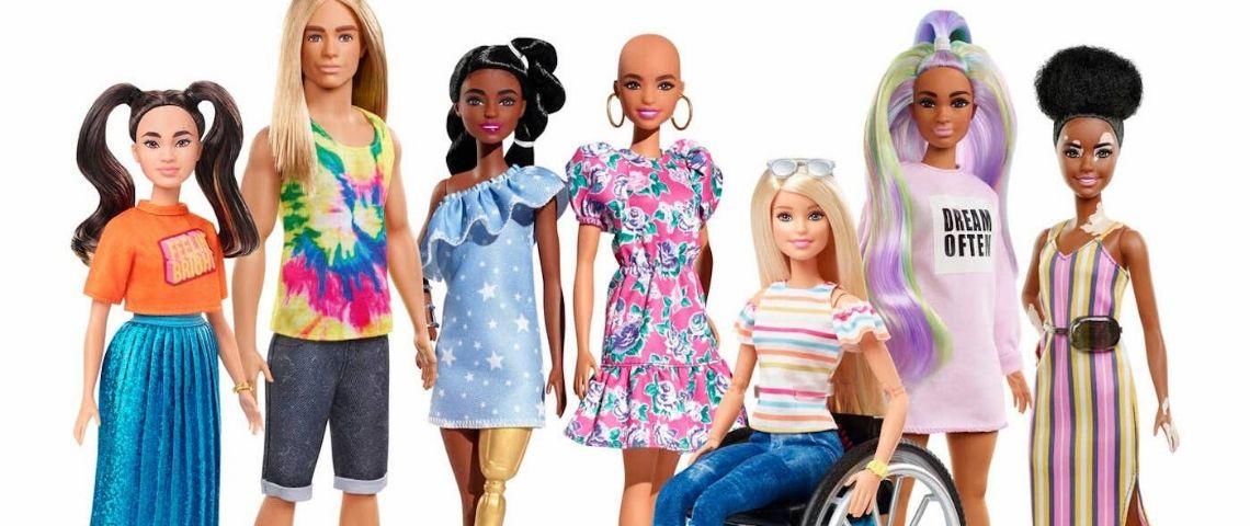 Gamme Barbie Fashionistas
