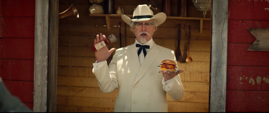 Le Colonel Sanders de KFC