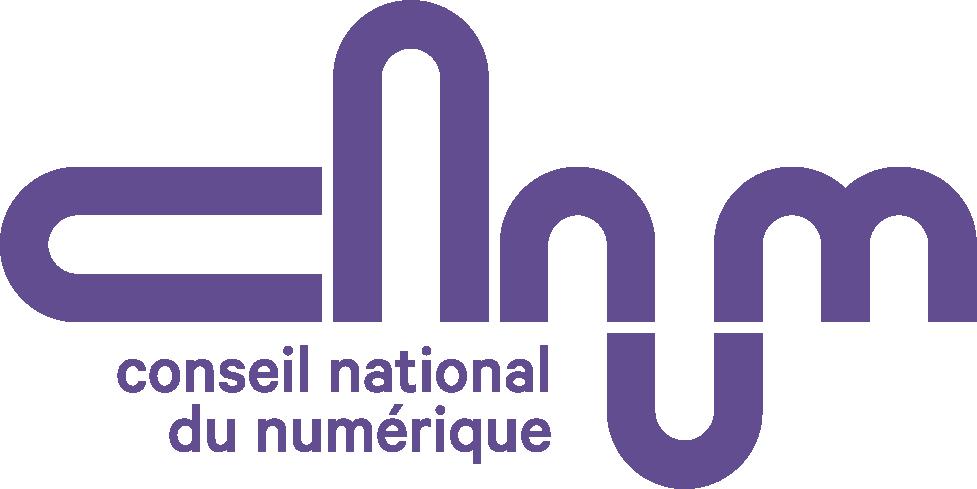 Logo Conseil National du Numérique