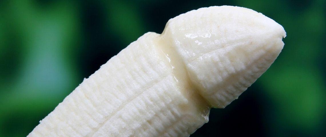Banane qui ressemble à un pénis