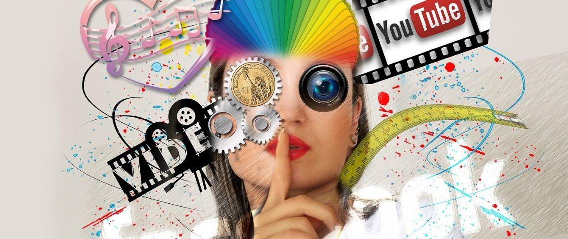 Logo des principaux réseaux sociaux