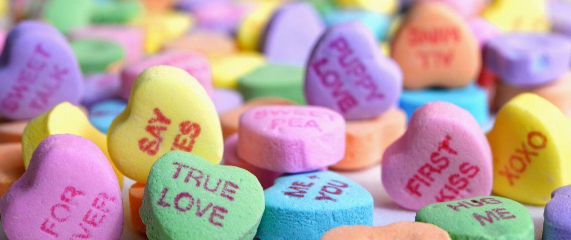 Des pilules en forme de coeur