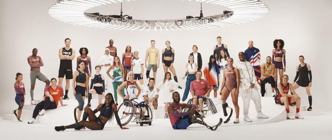 Athlètes sponsorisées par Nike