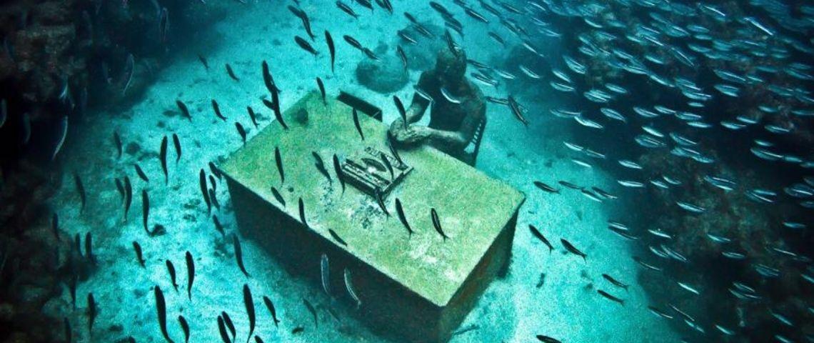 Tourisme de masse, mort des coraux... ces musées sous-marins sonnent l'alerte