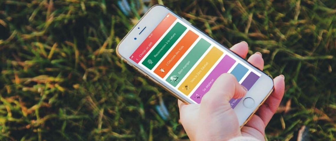 une application mobile pour le développement durable