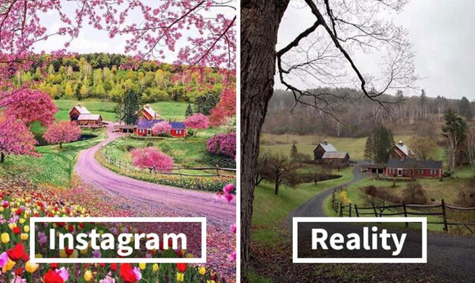 Instagram vs réalité