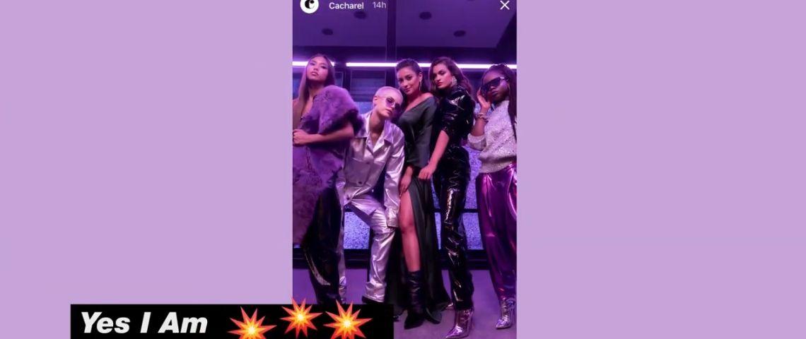 Capture d'écran de la vidéo avec 4 jeunes filles