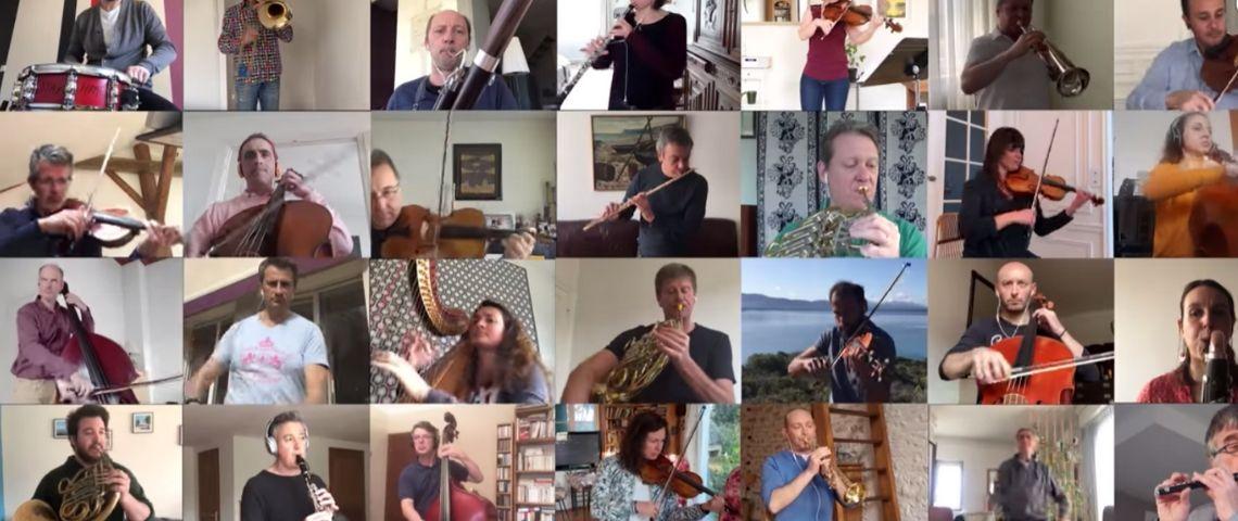 Les musiciens de l'ONF jouent de chez eux