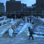 Scène du film Contagion de Steven Soderbergh