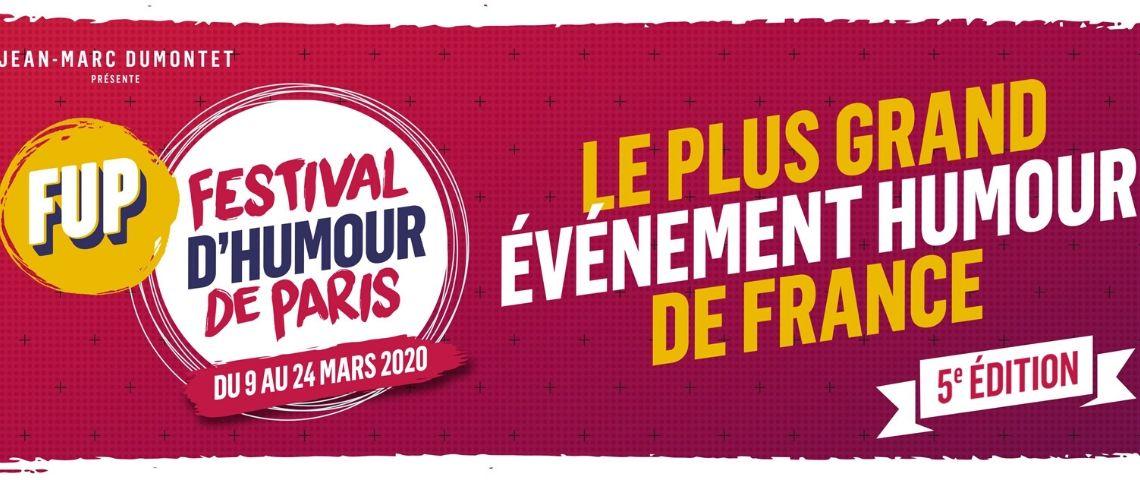 Affiche du Festival d'Humour de Paris